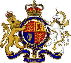 Armoirie du Royaume Uni de Grande-Bretagne et d'Irlande du Nord