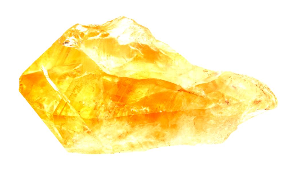 Citrine, pierre du centaure Chiron