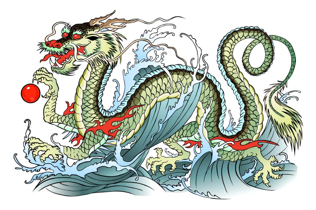 Dragon d'Asie Zinc