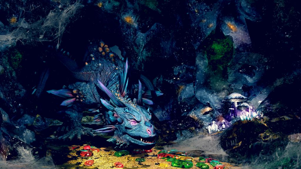 Dragon, gardien de trésors Tungsten