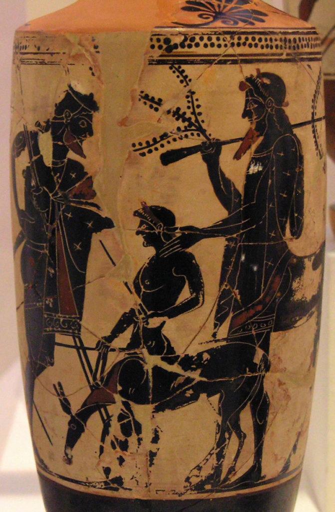 Achille et Chiron