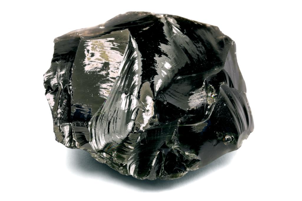 Obsidienne noire ronde