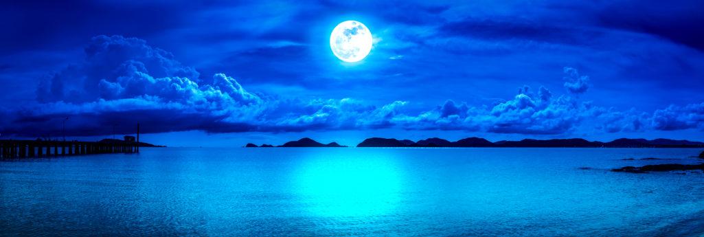 Pleine lune du mois de 1er octobre 2020
