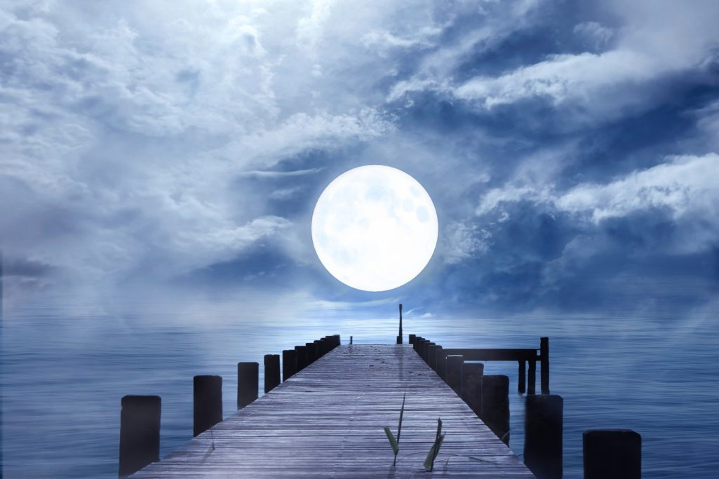La pleine lune du 28 mars 2021