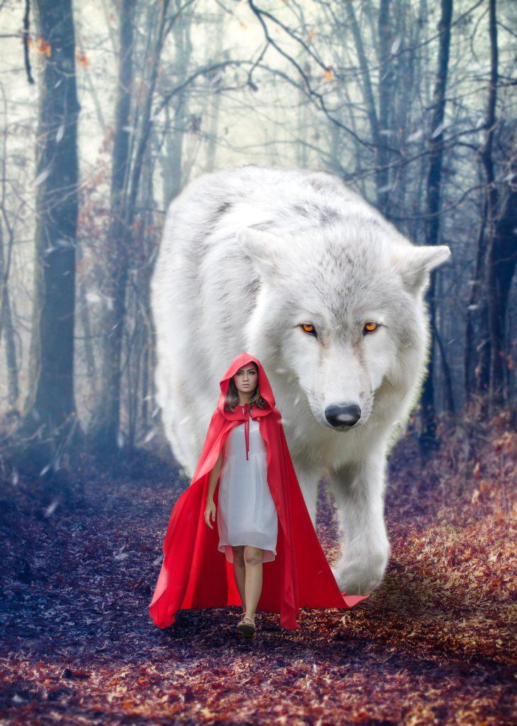 Animal de pouvoir, être des contes de fées