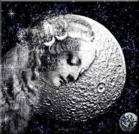 Séléné, déesse archaïque de la Lune