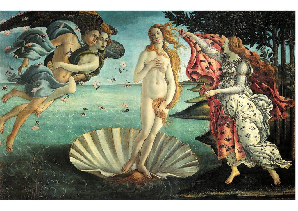 Vénus qui régit le vendredi