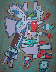 Xiuhtecuhtli et expansion de conscience