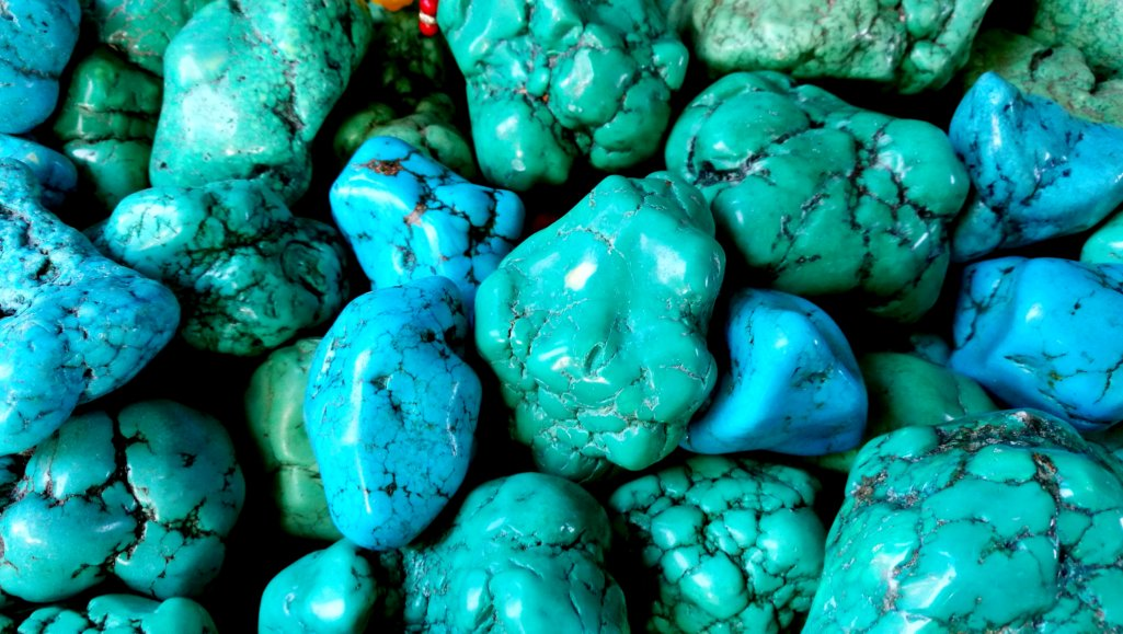 Turquoises Zinc