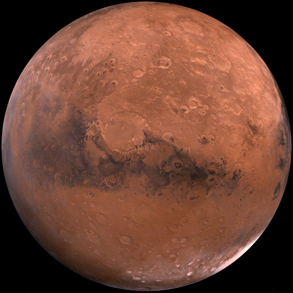 Mars la planète rouge